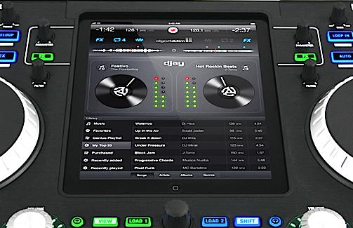 Numark iDJ Pro iPad